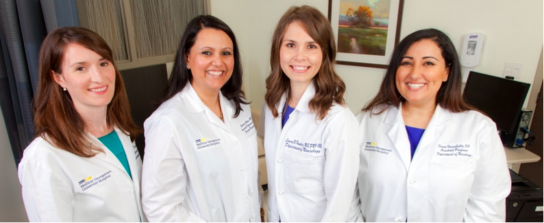 Attendings and nurse practitioners from the Headache fellowship.